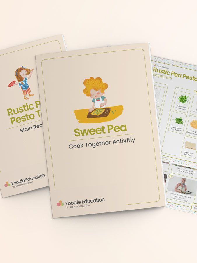 Cook Together Sweet Pea Resources Banner