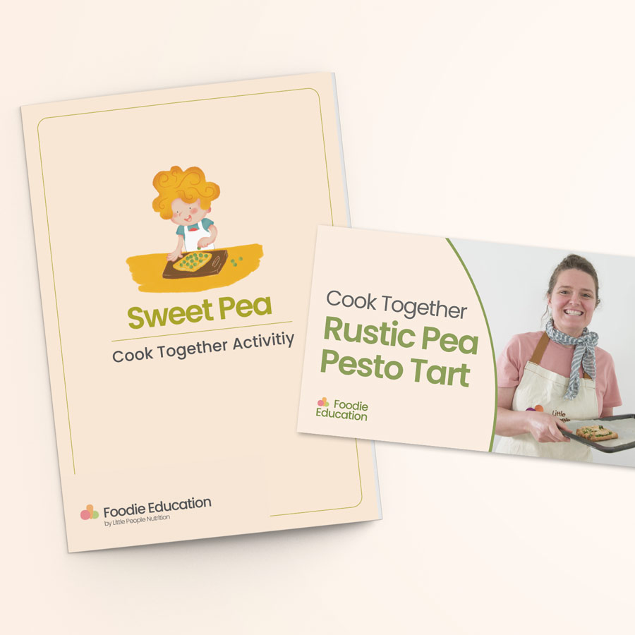 Cook Together Sweet Pea Activity 2B