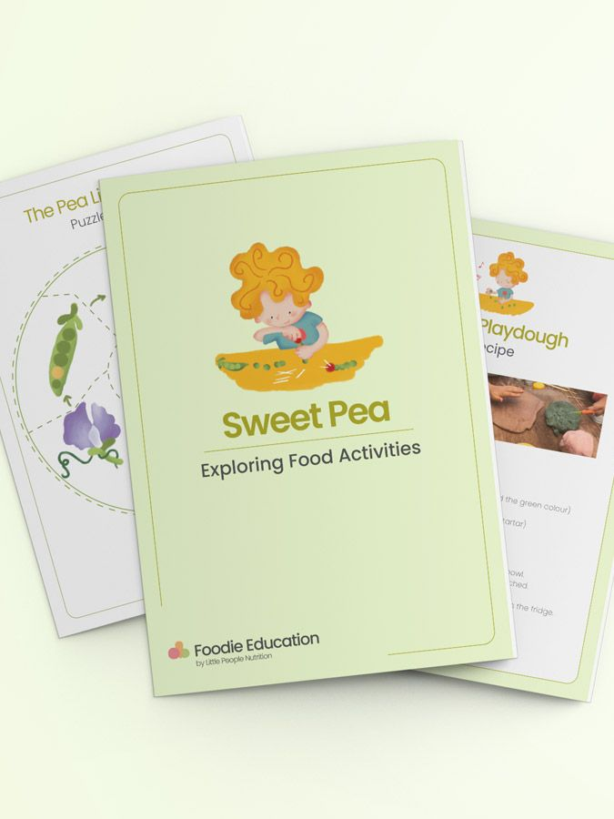 Exploring Food Sweet Pea Resources banner