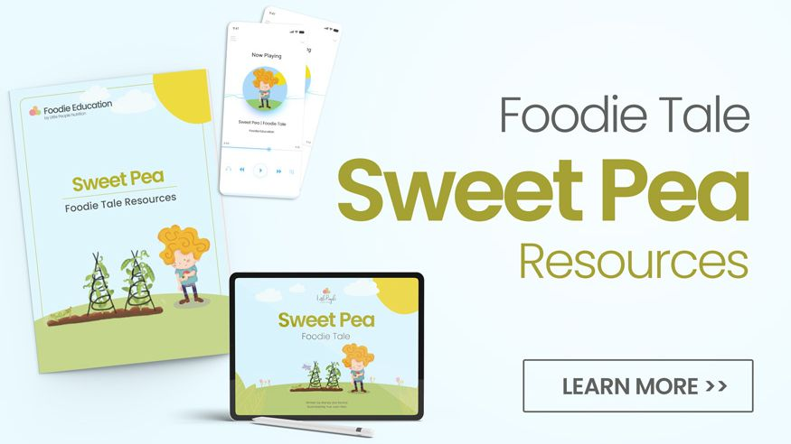 Foodie Tale Sweet Pea Resources Banner