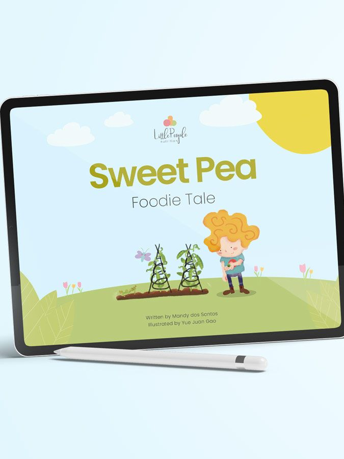 Sweet Pea Foodie Tale eBook Product 1B