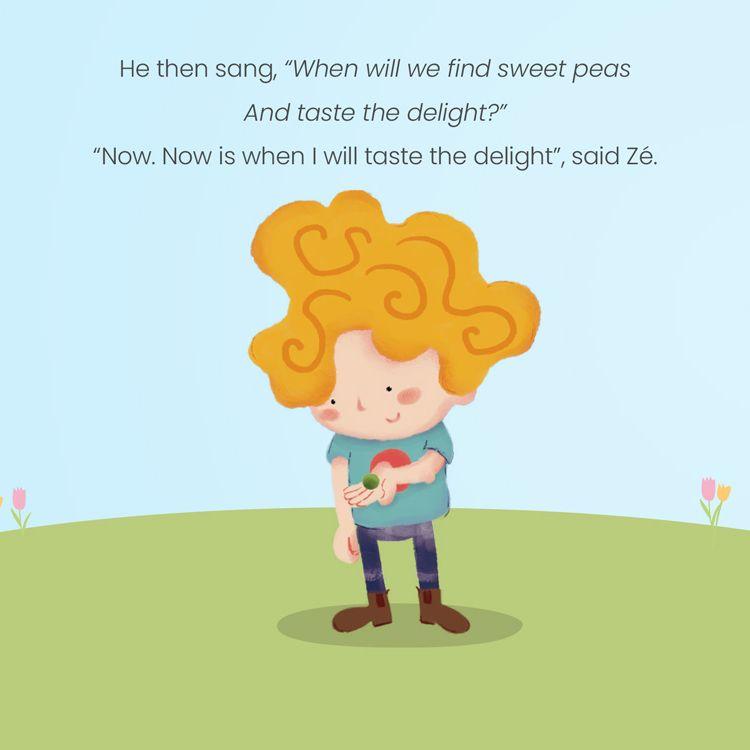 Sweet Pea Foodie Tale eBook Product 2