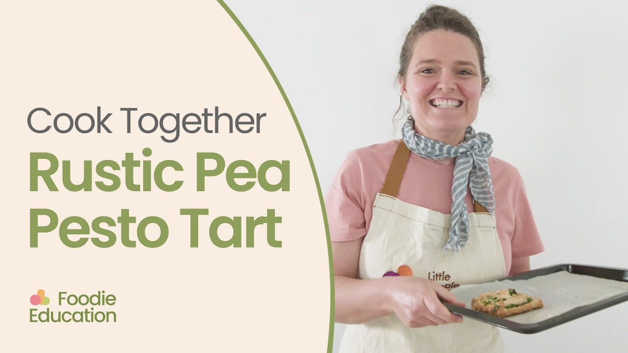 Cook Together Rustic Pea Pesto Tart